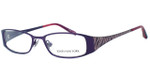 Jones New York Womens Designer Eyeglasses J461 in Plum :: Rx Single Vision
