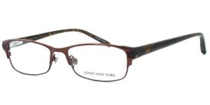 Jones New York Womens Designer Eyeglasses J463 in Brown ...