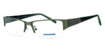 Converse From There Designer Eyeglasses in Forest Green :: Rx Bi-Focal
