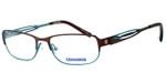Converse Spray Paint Designer Eyeglasses in Brown/Green :: Rx Bi-Focal
