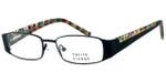 Visage Petite Designer Eyeglasses 100 in Black :: Custom Left & Right Lens
