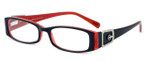 Calabria Designer Eyeglasses 814 Ebony :: Custom Left & Right Lens
