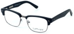 Ernest Hemingway Eyeglass Collection 4629 in Matte Black & Gunmetal :: Custom Left & Right Lens