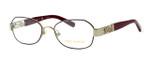 Tory Burch TY1043 Designer Eyeglasses in Burgundy-Gold (3062) :: Progressive