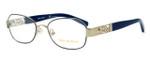 Tory Burch TY1043 Designer Eyeglasses in Blue-Gold (3058) :: Rx Bi-Focal