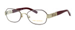 Tory Burch TY1043 Designer Reading Glasses in Burgundy-Gold (3062)