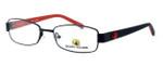 Body Glove BB119 Designer Eyeglasses in Black & Red :: Rx Single Vision