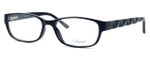 Enhance Optical Designer Eyeglasses 3959 in Black :: Rx Single Vision