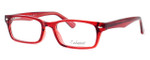 Enhance Optical Designer Eyeglasses 3928 in Burgundy :: Rx Bi-Focal