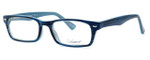 Enhance Optical Designer Eyeglasses 3928 in Deep-Blue :: Rx Bi-Focal