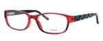 Enhance Optical Designer Reading Glasses 3959 in Burgundy-Black