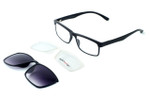 Switch and Go Switchable Eyewear 018-C1 in Matte Black