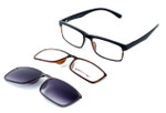 Switch and Go Switchable Eyewear 018-C2 in Shiny Black