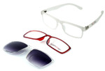 Switch and Go Switchable Eyewear 018-C5 in Matte Clear