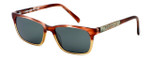 Parkman Handcrafted Polarized Sunglasses Francesa in Cranberry Tan with Money & Grey Lens ; Made in the USA