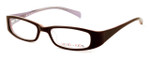 Calabria Viv Kids 119 Designer Reading Glasses in Brown-Pink :: Custom Left & Right Lens