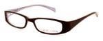 Calabria Viv Kids 119 Designer Reading Glasses in Brown-Pink :: Custom Left & Right Lens