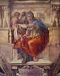 Famous Artwork Theme Cleaning Cloth Michelangelo's rendering of the Delphic Sibyl