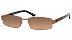 Dale Earnhardt, Jr. 6702 Designer Reading Sunglasses in Satin Brown