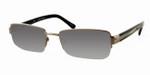 Dale Earnhardt, Jr. 6740 Designer Reading Sunglasses in Gun-Metal
