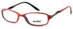 Bollé Designer Eyeglasses Elysee in Opaque Red 70217 50mm :: Rx Bi-Focal