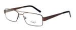 Dale Earnhardt, Jr. 6783 Designer Eyeglasses in Brown :: Custom Left & Right Lens