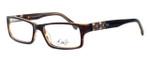 Dale Earnhardt, Jr. Eyeglass Collection 6756 in Brown :: Custom Left & Right Lens