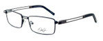Dale Earnhardt, Jr. Eyeglass Collection 6782 in Black-Gunmetal :: Rx Single Vision