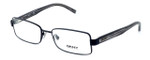 DKNY Donna Karan New York Designer Optical Eyeglasses DY5622-1004 in Matte Black :: Custom Left & Right Lens