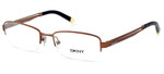 DKNY Donna Karan New York Designer Optical Eyeglasses DY5631-1192 in Matte Copper :: Custom Left & Right Lens