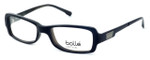 Bollé Bastia Designer Reading Glasses in Shiny Black Grey :: Custom Left & Right Lens