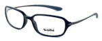 Bollé Neuilly Designer Eyeglasses in Shiny Black w/ Dark Gun :: Rx Single Vision