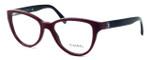 Chanel Womens Designer Reading Glasses 3315-1237 in Burgundy-Black :: Progressive