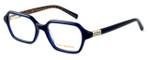 Tory Burch Womens Designer Eyeglasses TY2043-1304 in Navy :: Custom Left & Right Lens