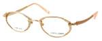 Judith Leiber Womens Designer Reading Glasses JL1635-06 in Gold