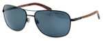Ralph Lauren Polo Designer Polarized Sunglasses - PH3076-9223 in Black with Grey Lens