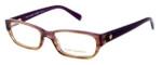 Tory Burch Womens Designer Eyeglasses TY2027-1082 in Purple :: Custom Left & Right Lens