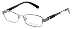 Tory Burch Womens Designer Reading Glasses TY1027-103 50mm in Gunmetal