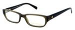 Tory Burch Womens Designer Eyeglasses TY2027-735 50mm in Olive :: Rx Single Vision