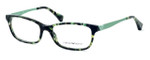 Emporio Armani Designer Eyeglasses EA3031-5227 53mm in Green Havana :: Custom Left & Right Lens