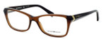 Emporio Armani Designer Eyeglasses EA3023-5198 in Brown :: Custom Left & Right Lens