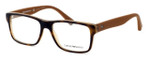 Emporio Armani Designer Eyeglasses EA3059-5391 in Havana Brown :: Custom Left & Right Lens
