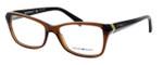 Emporio Armani Designer Eyeglasses EA3023-5198 in Brown :: Rx Single Vision