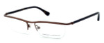 David Yurman Designer Eyeglasses DY043 in Brown (02) :: Rx Bi-Focal