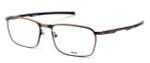Oakley Optical Designer Eyeglasses Conductor in Toast OX3186-0454 :: Progressive
