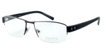 OGA Designer Eyeglasses 7926O-GG082 in Gunmetal & Black :: Rx Single Vision