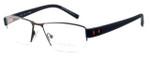 OGA Designer Eyeglasses 7922O-MM050 in Brown & Orange :: Rx Bi-Focal