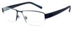 OGA Designer Eyeglasses 7922O-BN051 in Black & Blue :: Rx Bi-Focal