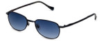 Lucky Beatnik Designer Sunglasses in Navy