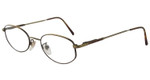 Marcolin 6360-325 Metal Reading Glasses in Bronze-Tortoise